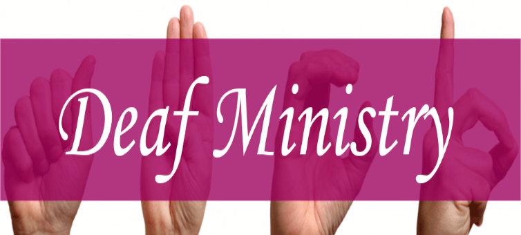 deaf ministry header